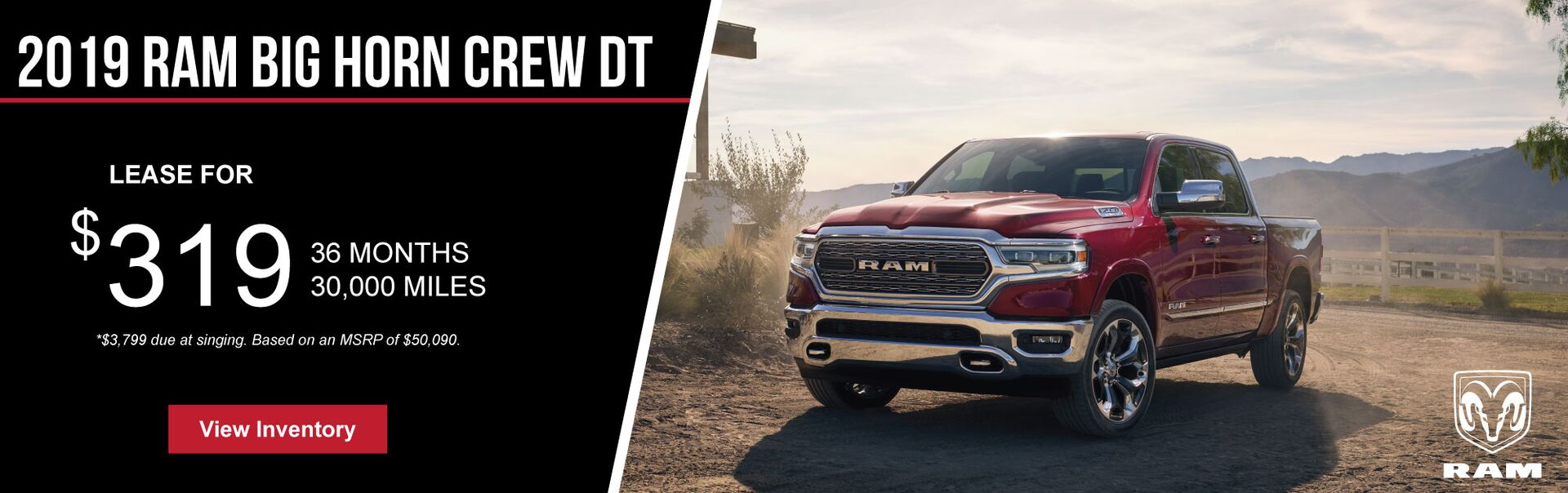 2019 Ram Lease Offer