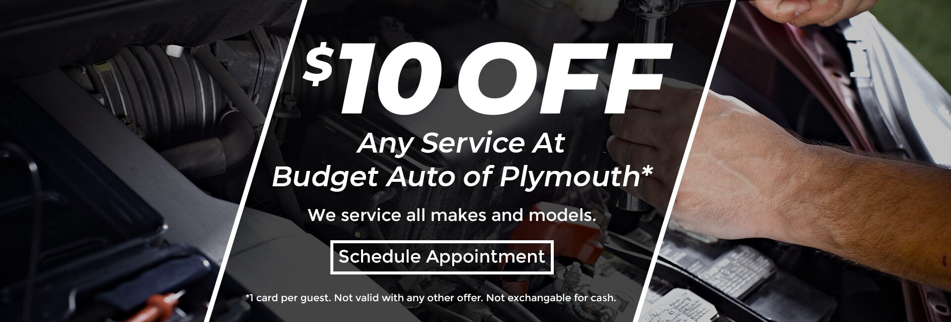 $10 Off Any Service at Van Horn Budget