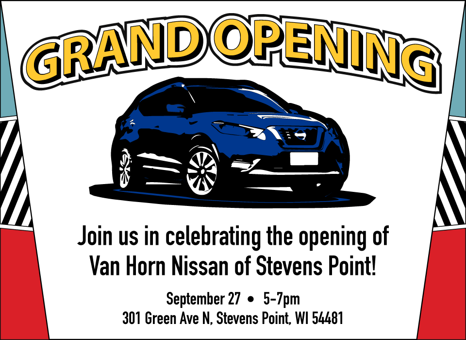 Nissan of Stevens Point Grand Opening