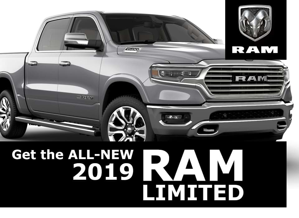 New 2019 Ram Limited at Van Horn Automotive Group
