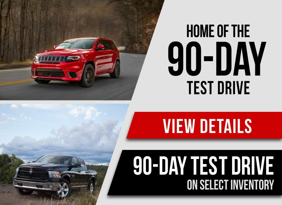 90-Day Test Drive on Select Inventory at Van Horn Automotive Group
