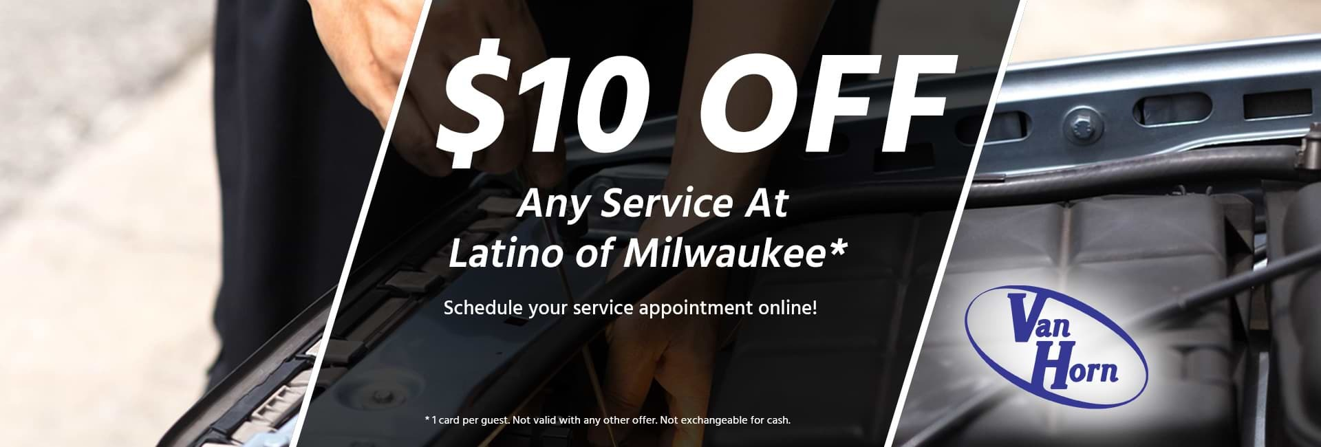 $10 Off Any Service at Latino of Milwaukee