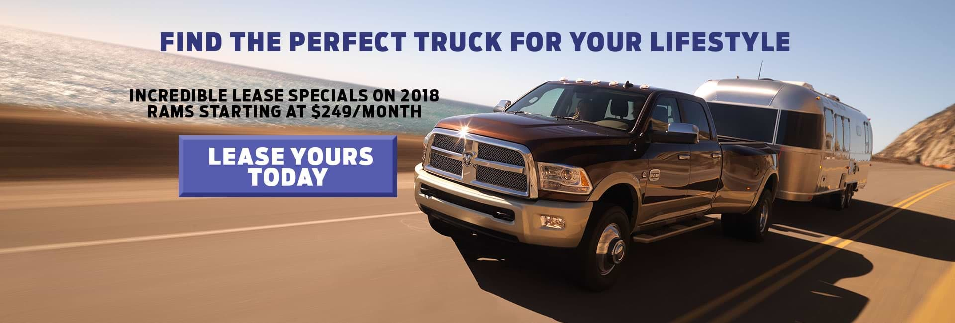 Find the perfect truck for your lifestyle