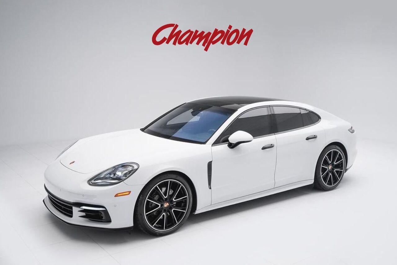 2018 Porsche Demo Sale Panamera 4S