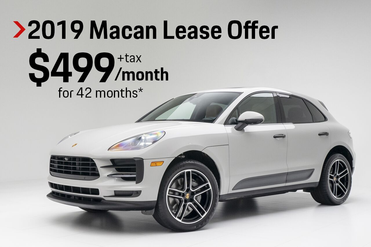 Porsche Macan Lease >> Vehicle Specials In Pompano Beach Fl