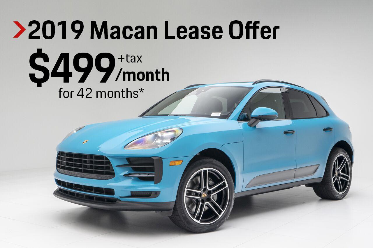 Porsche Macan Lease >> Vehicle Specials In Pompano Beach Fl