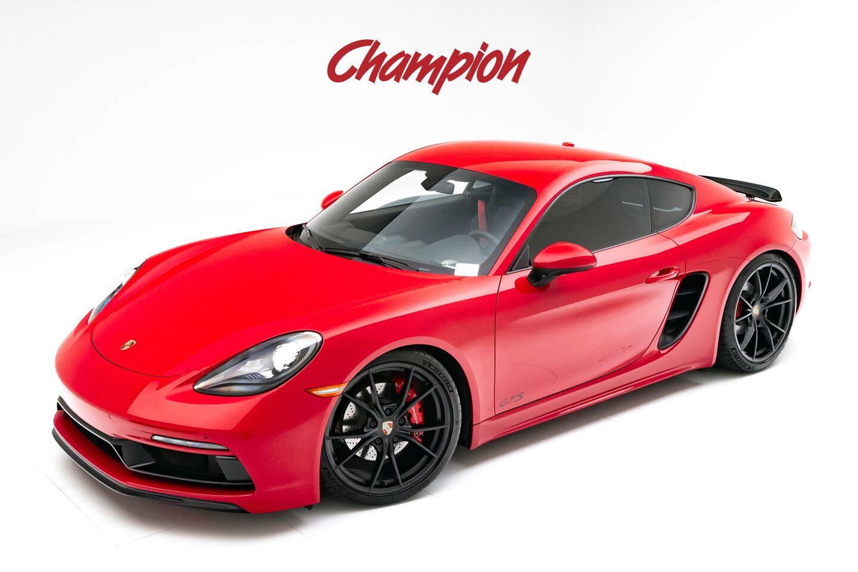 2018 Porsche Demo Sale 718 Cayman GTS