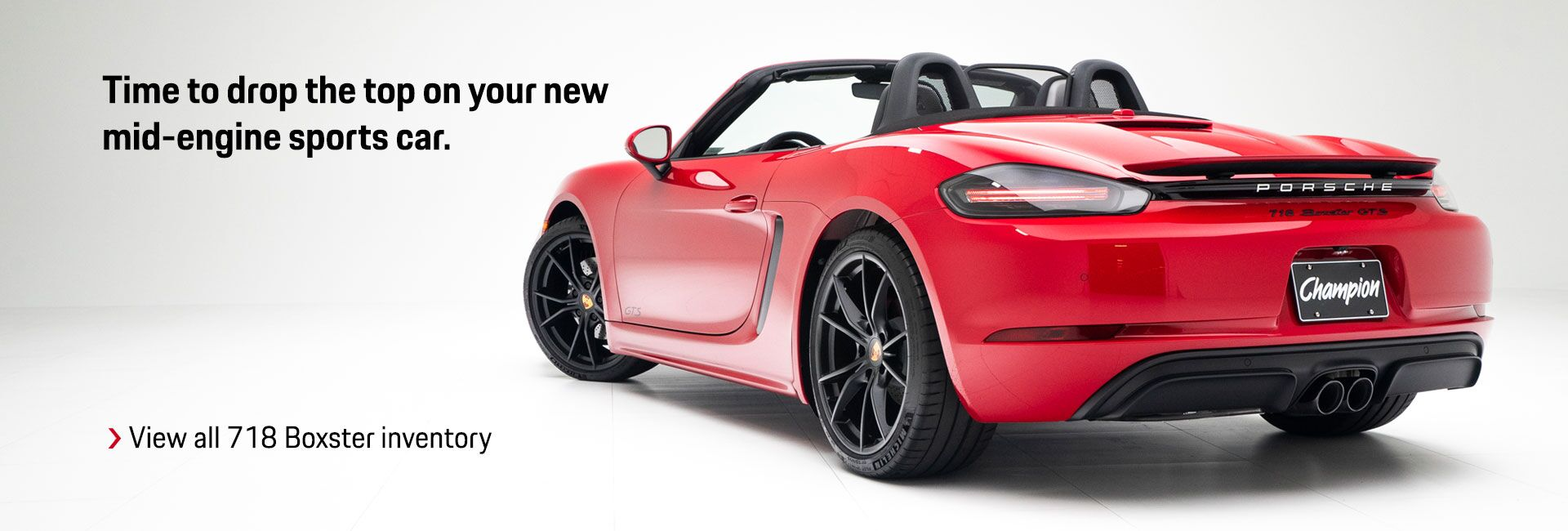 Boxster Models