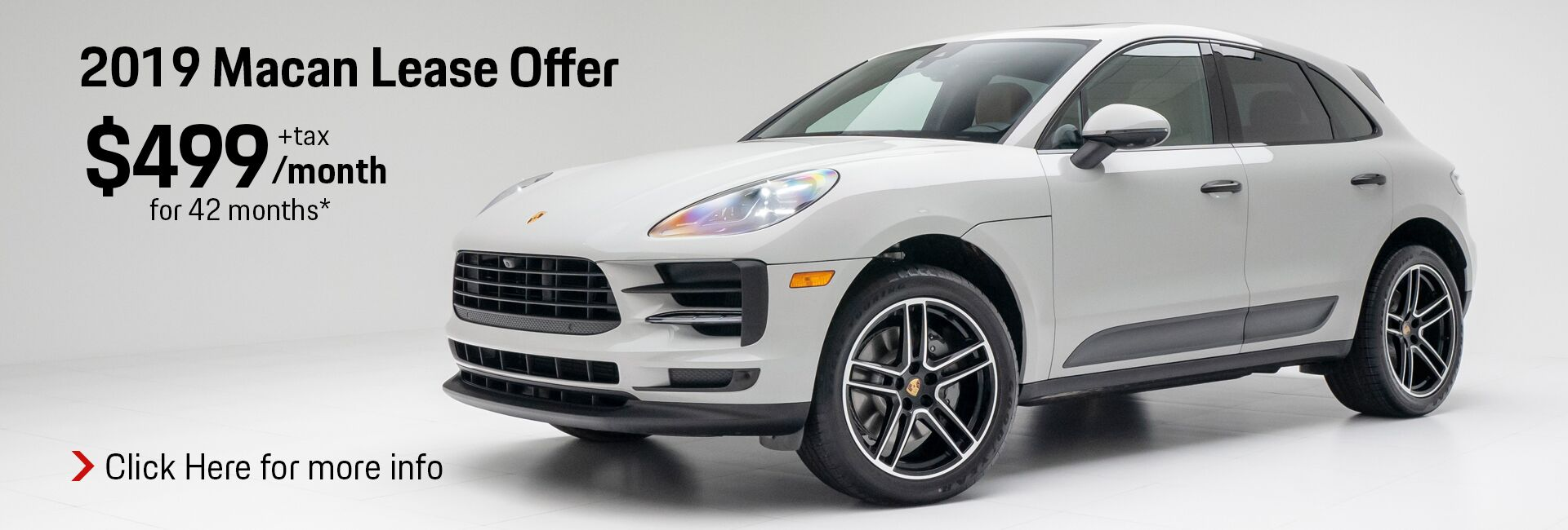 September 2019 Macan Lease Offer