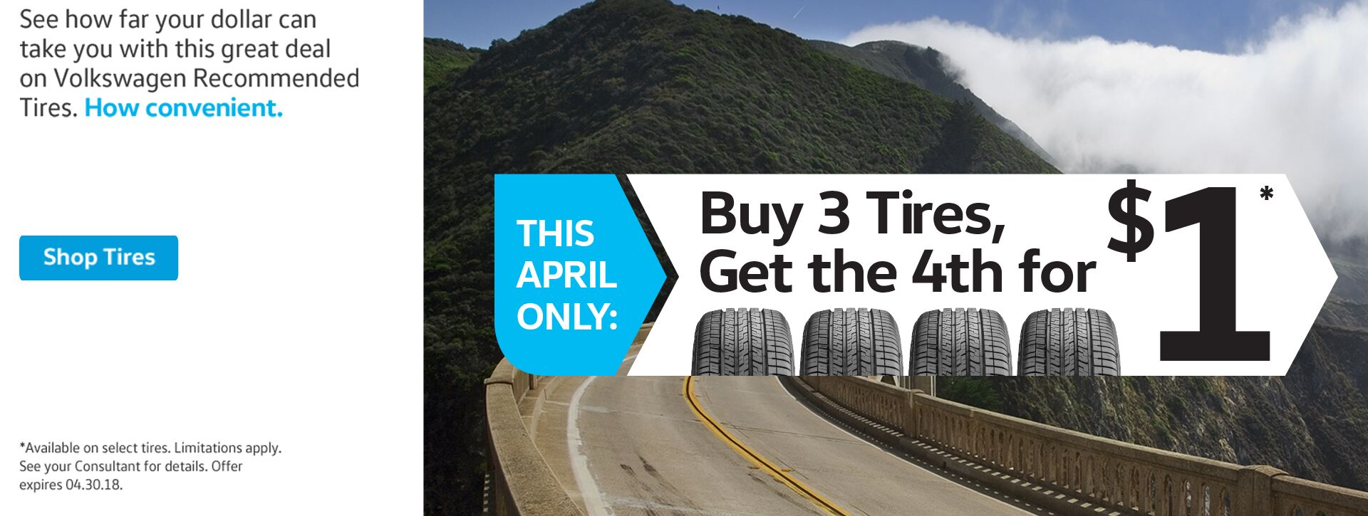 Buy 3 Tires Special