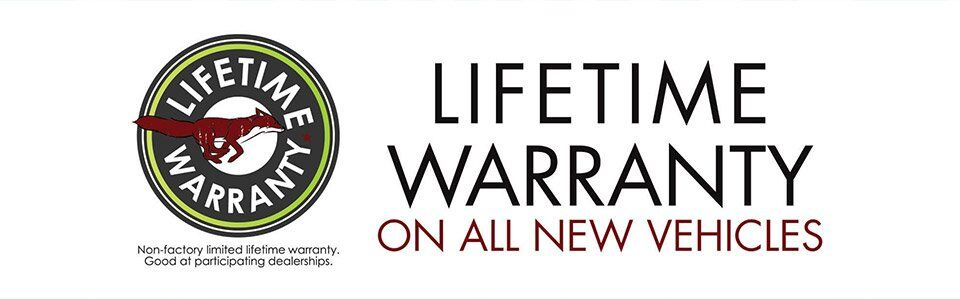 Lifetime Warranty on all New Vehicles at Fox Toyota