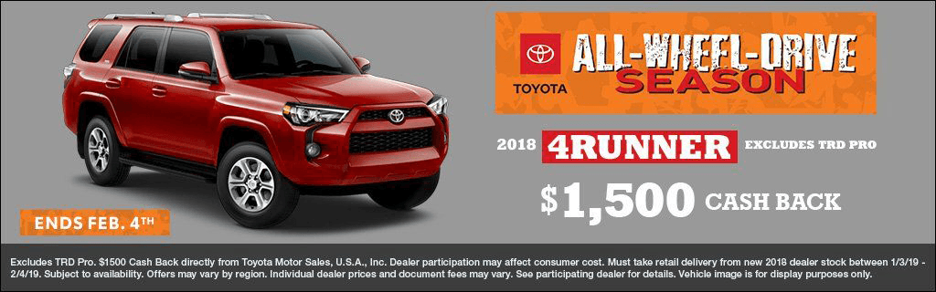 CIN - 4Runner Cash Back Jan 2019