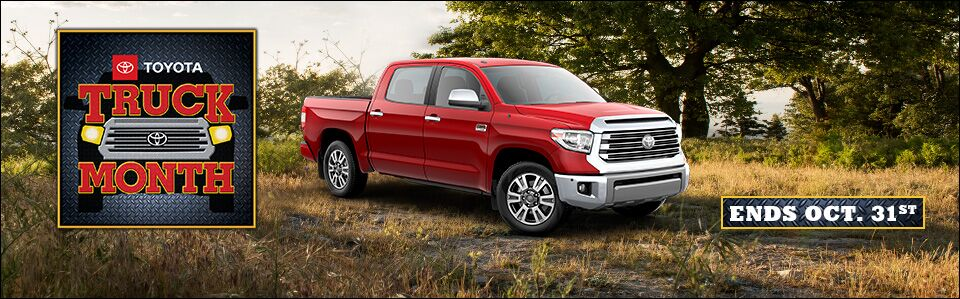 Toyota Truck Month General Oct 2018