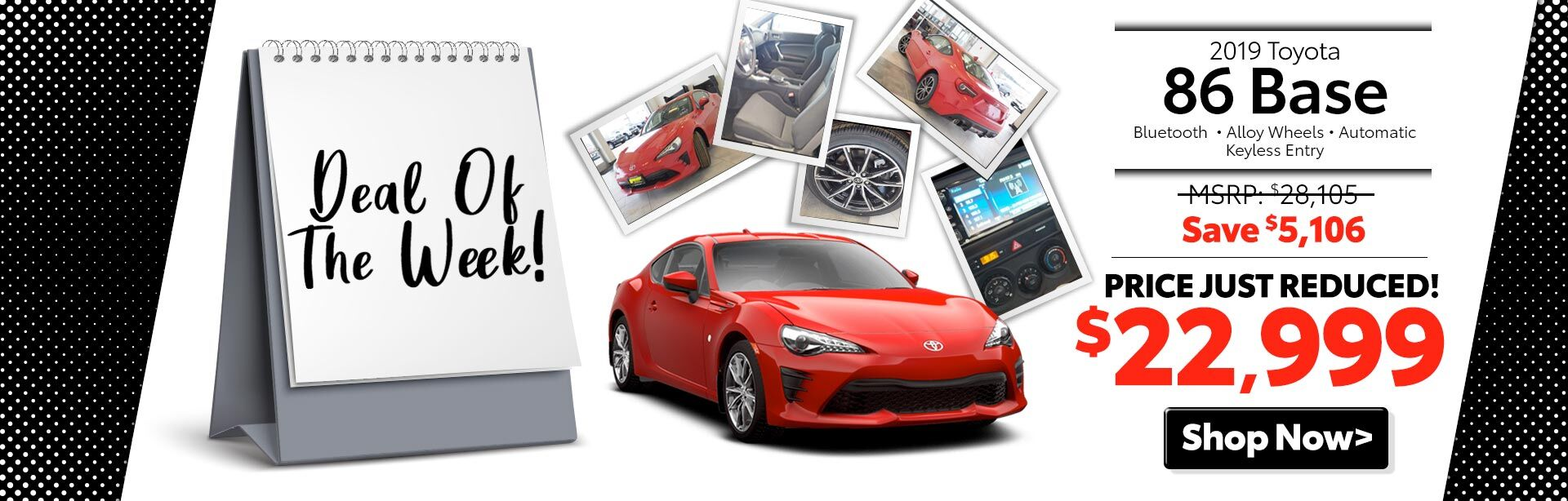 2019 Toyota 86 Base at McGee Epping