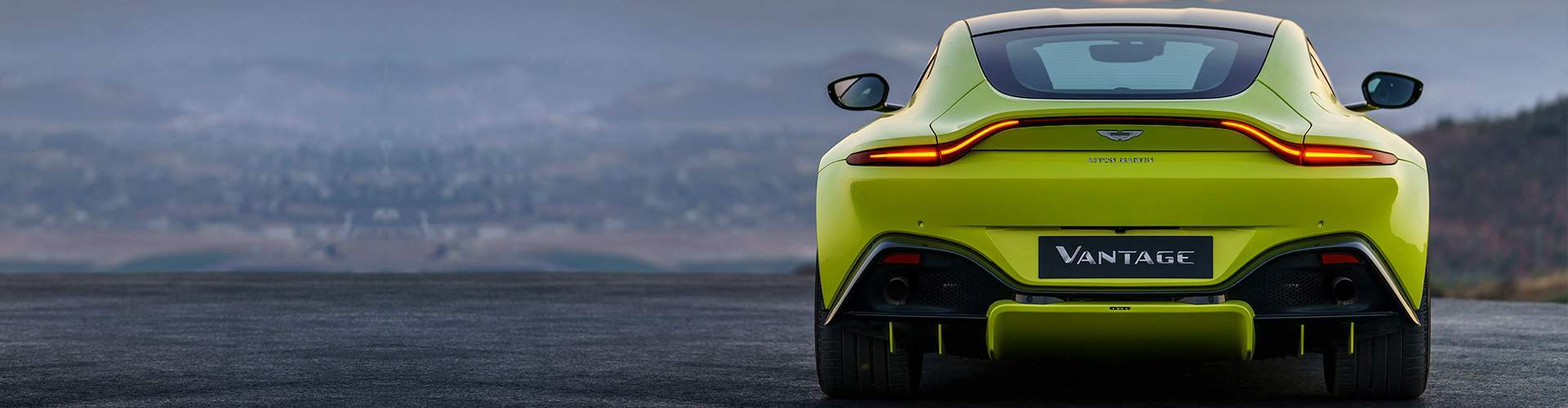 New Vantage at Aston Martin of Dallas
