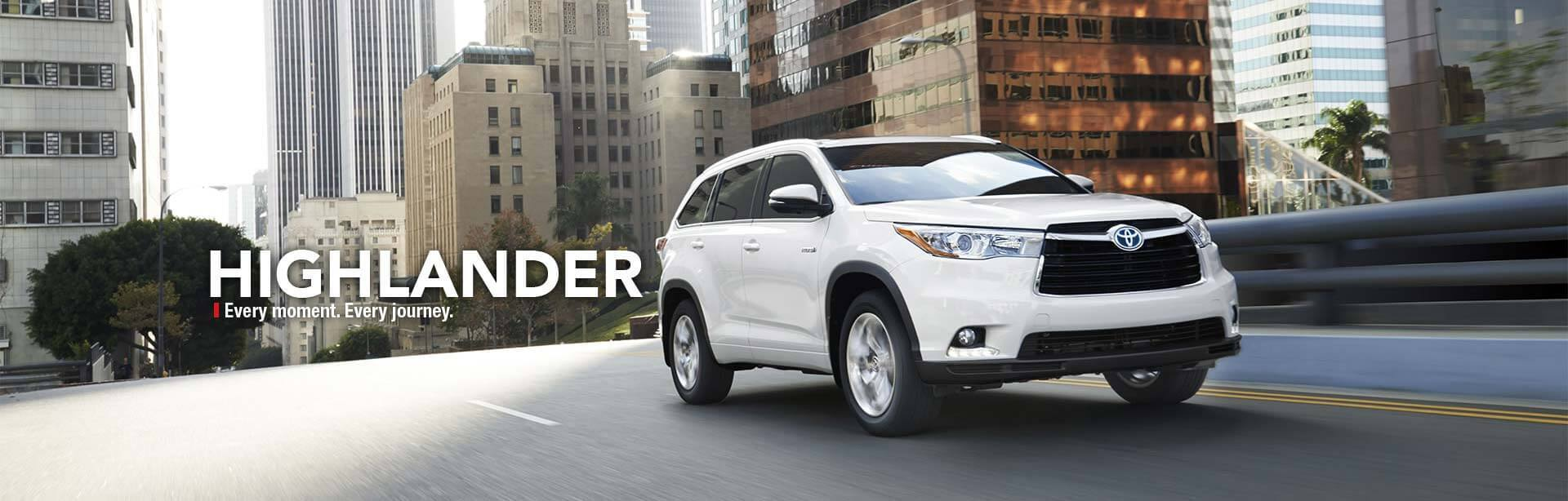New Toyota Highleander
