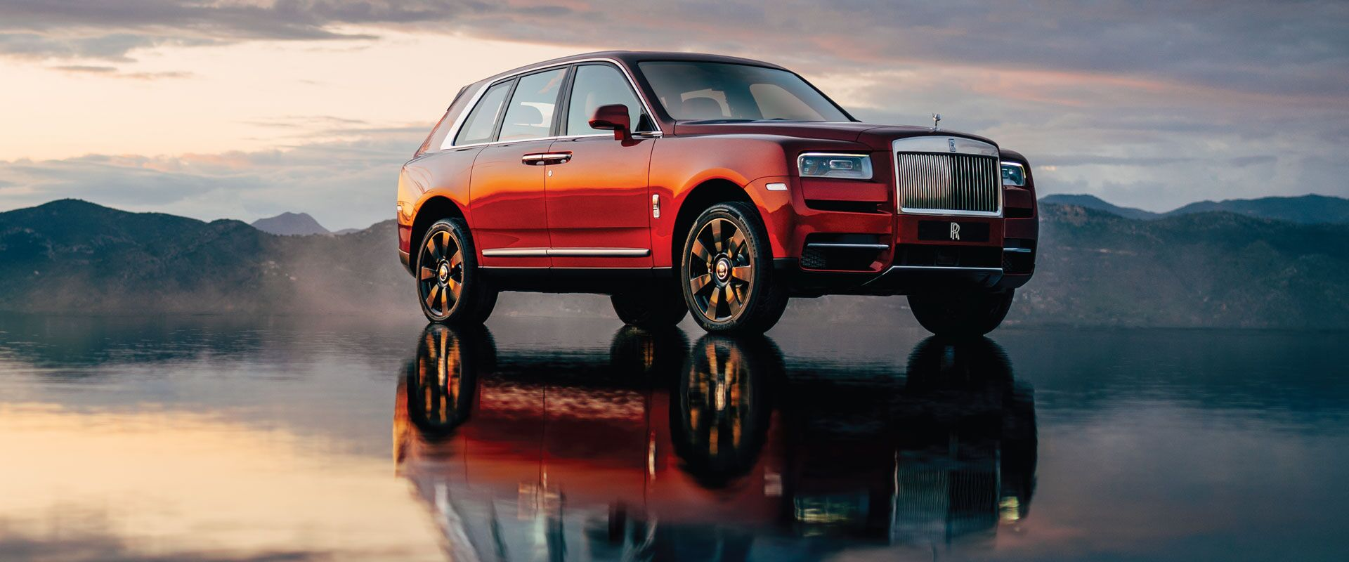 The New Rolls-Royce Cullinan