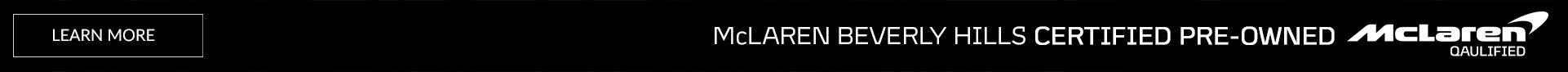 McLaren CPO Banner