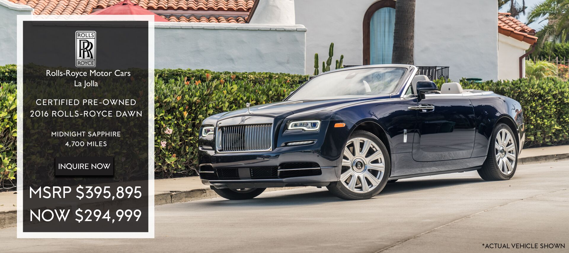 Rolls Royce Lease Offer