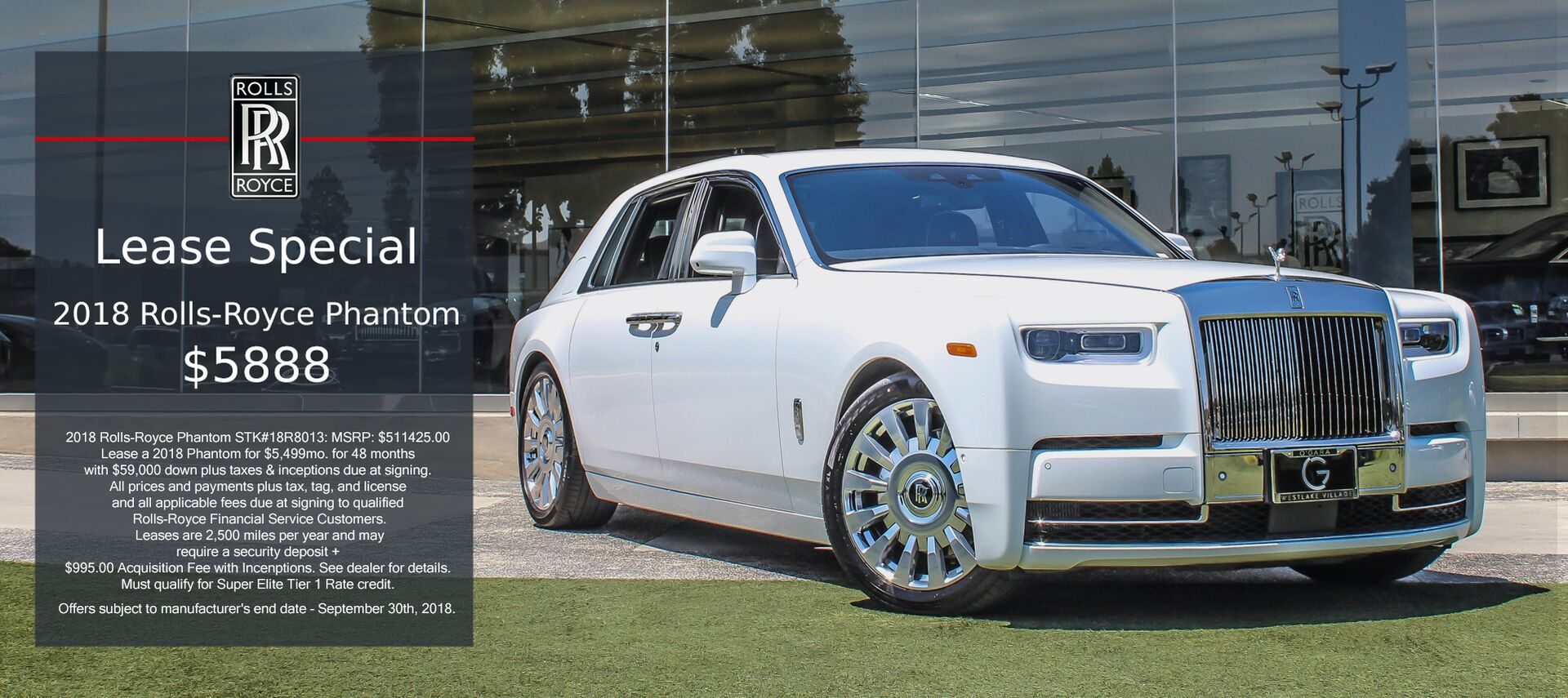 Rolls-Royce Phantom Lease
