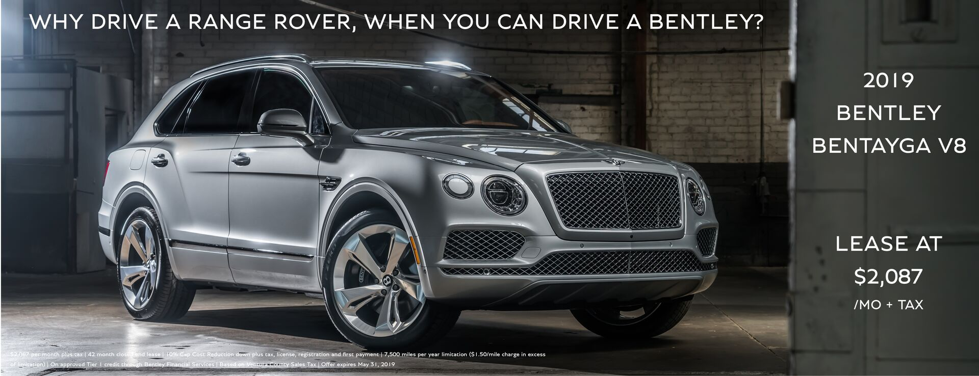 Bentley Bentayga V8- May