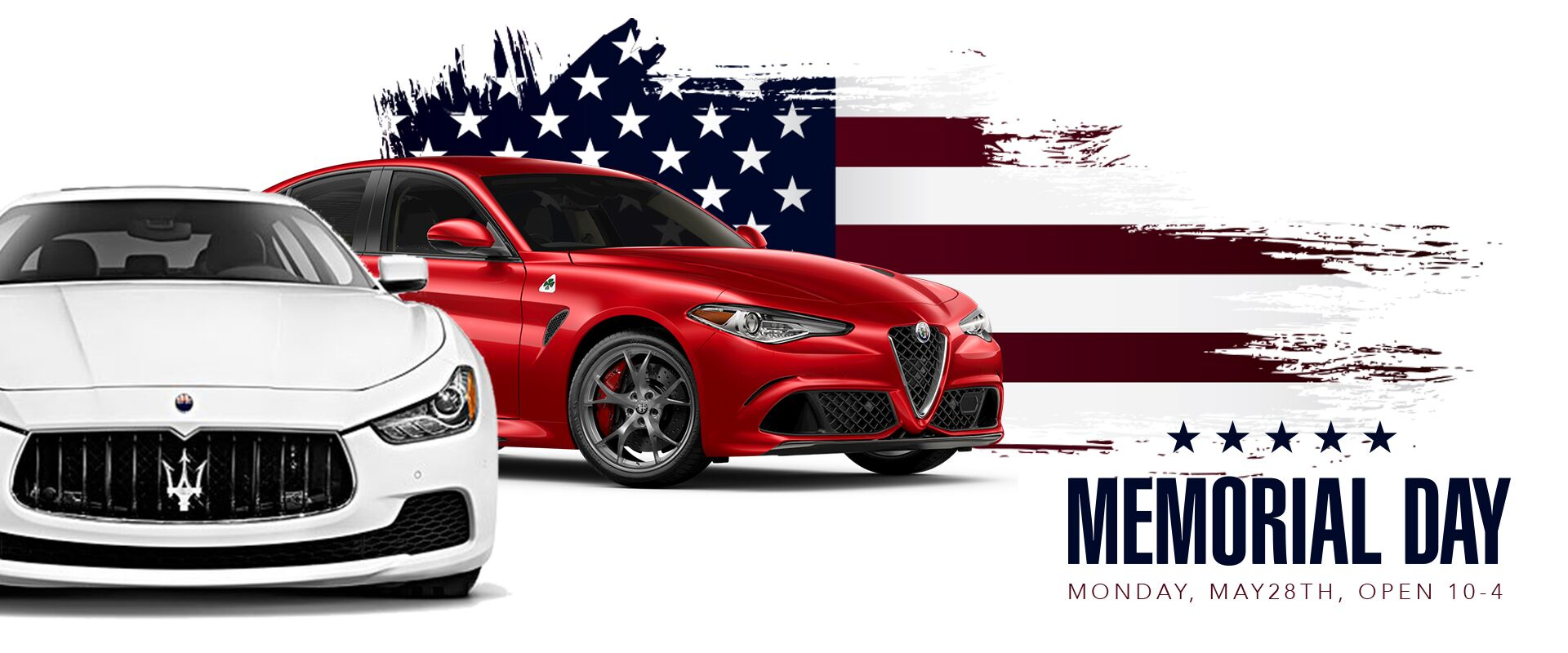 Alfa Romeo Maserati Memorial Day Hours