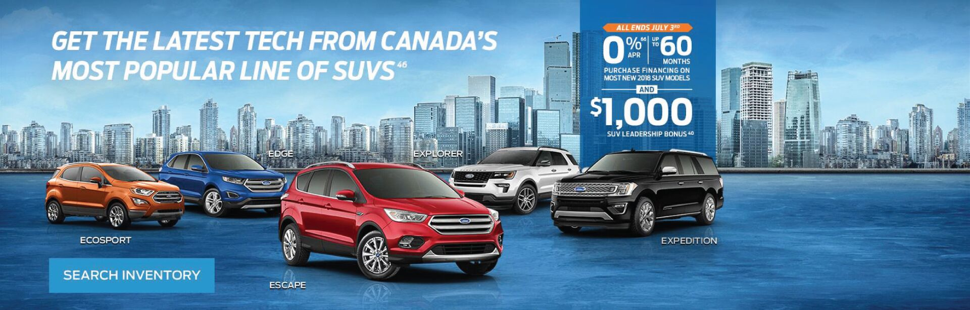 Ford SUV June Incentive