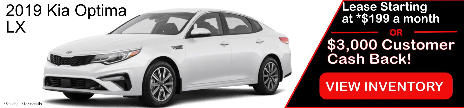 2019 Kia Optima Lease