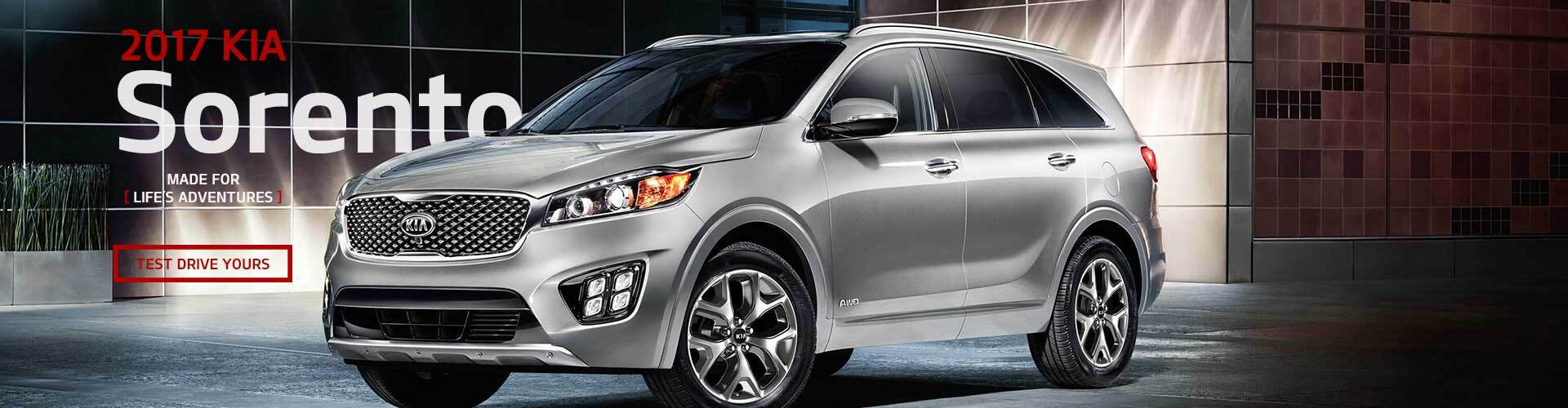 Kia Sorento at Kia West Edmonton}}