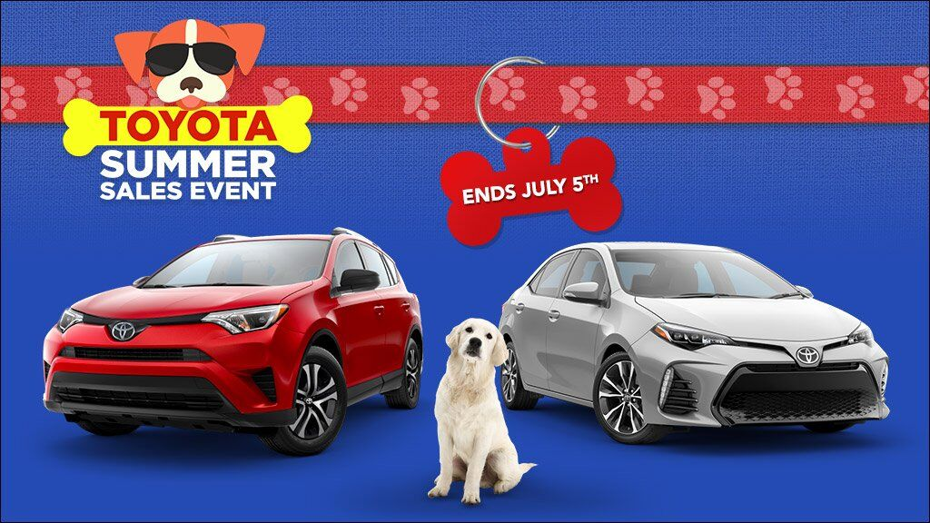 Toyota Summer Sales Event