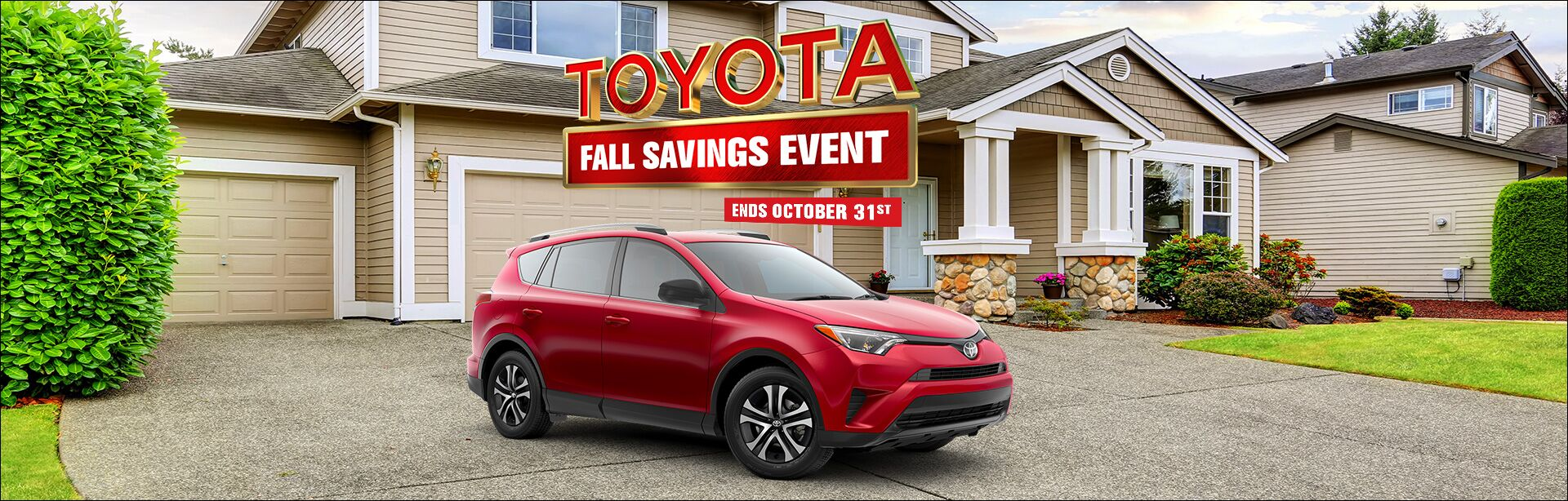 Toyota Fall Savings Event 2018