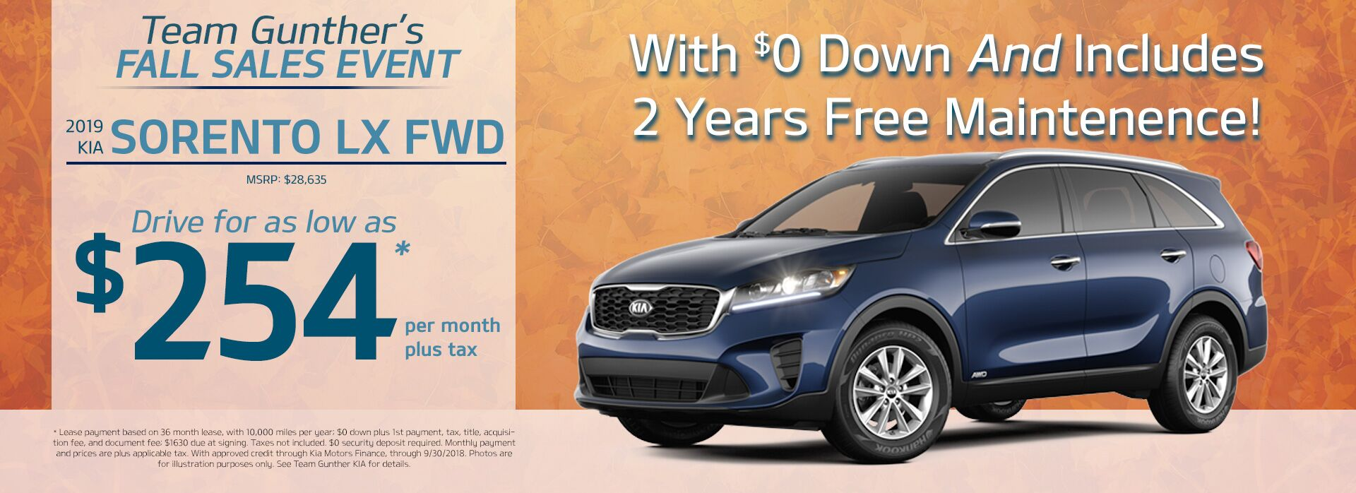 Sorento LX FWD - Updated Price