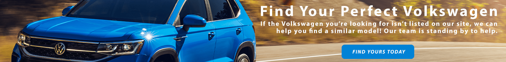 Find Your perfect VW