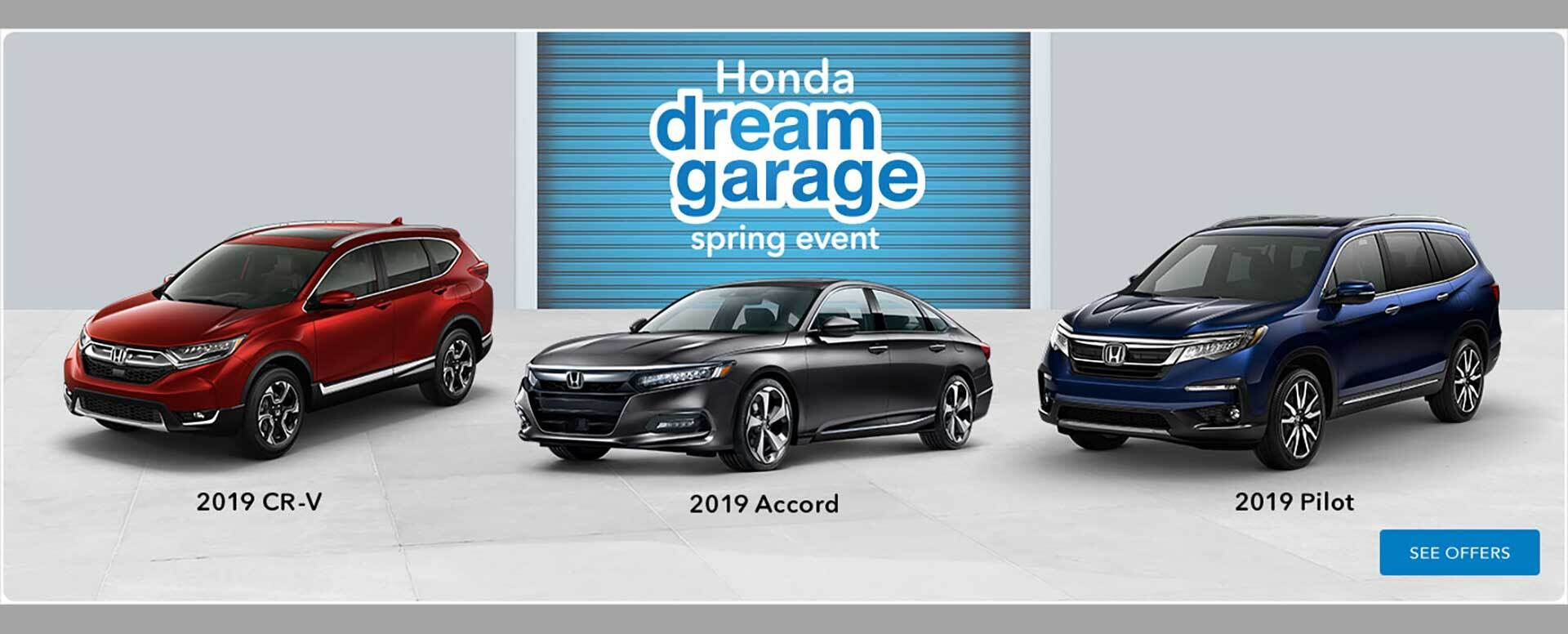 2019 Honda Dream Garage Event