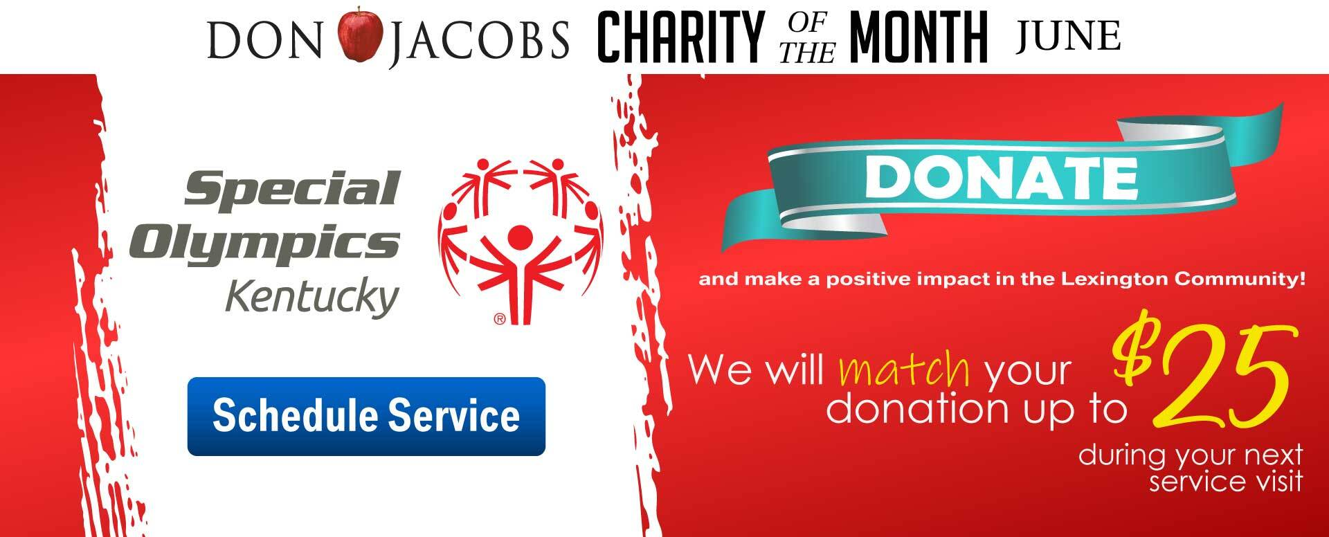 Charity of the Month - Special Olympics