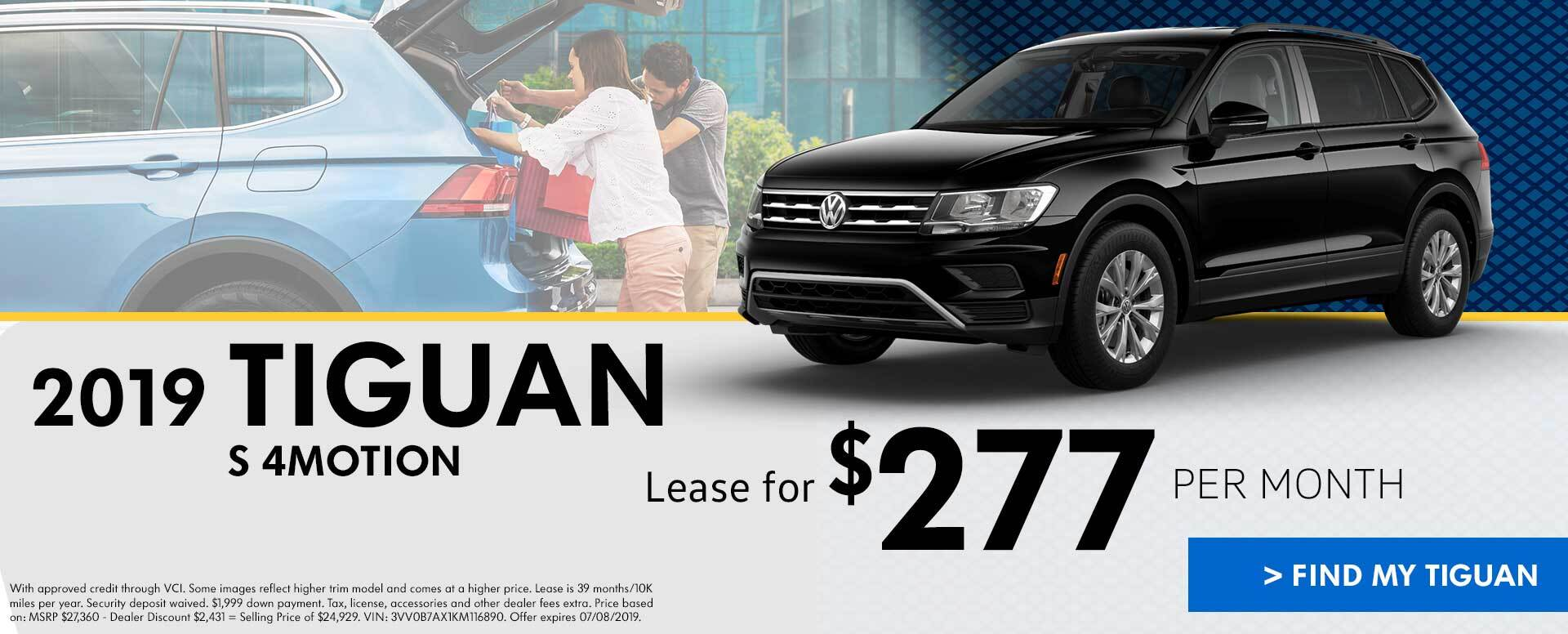 June Tiguan Lease Offer