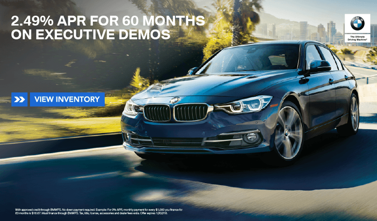 November 2018 Executive Demo Offer
