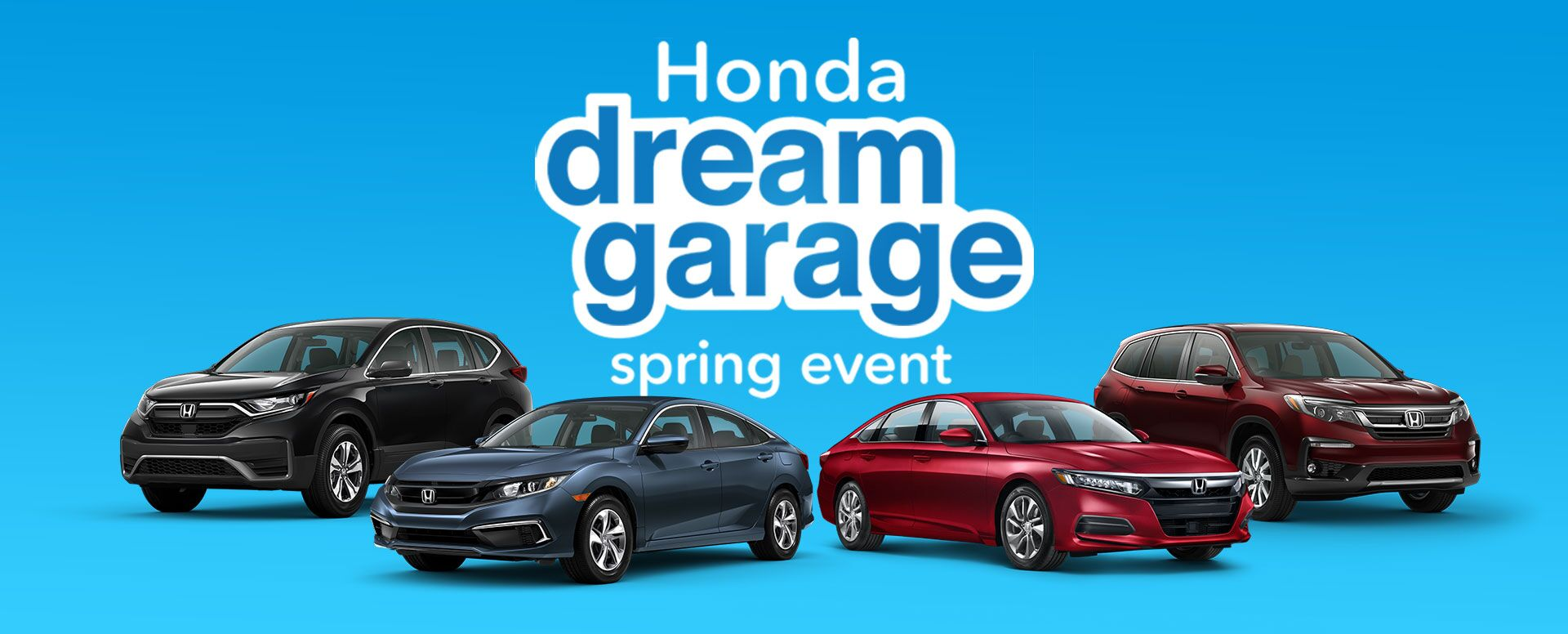 Honda Spring Sales Event