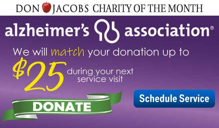 Charity of the Month - Alzheimer's Association