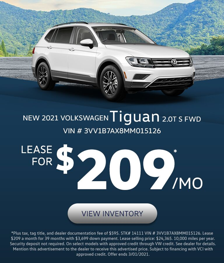 2021 VW Tiguan in Lexington, KY