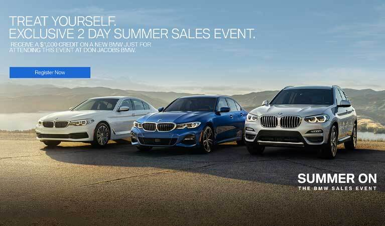 2019 BMW Summer Sales Event