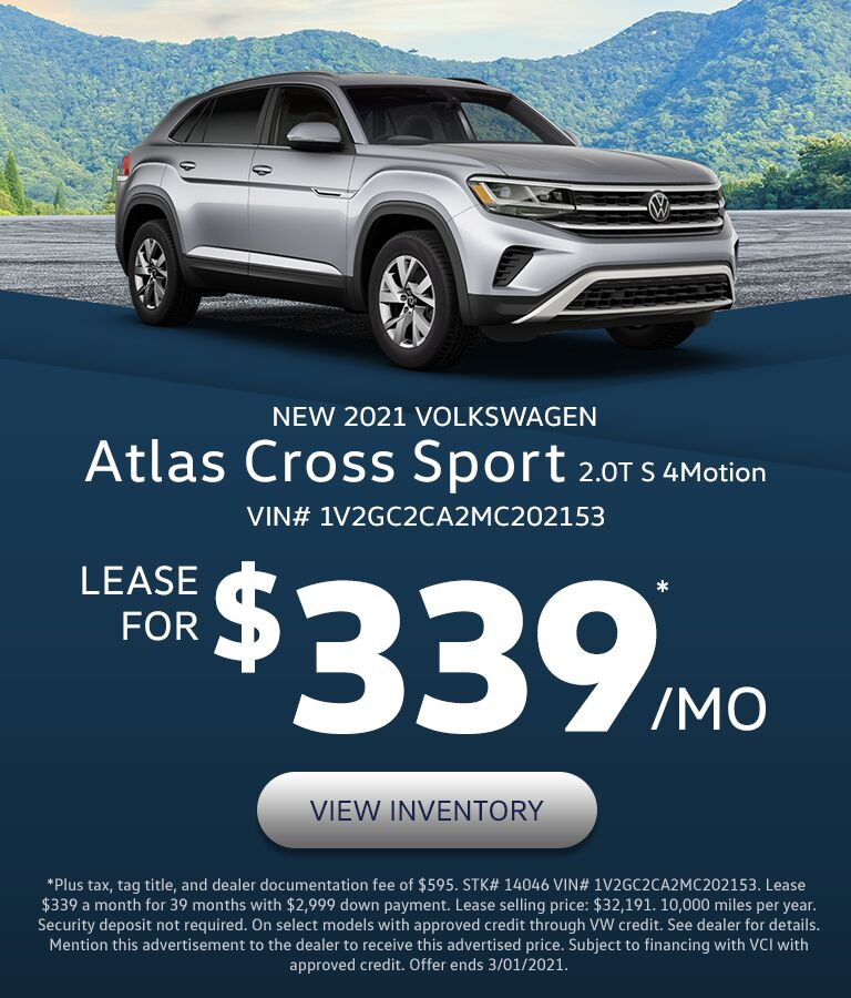 2021 VW Atlas Cross Sport in Lexington, KY