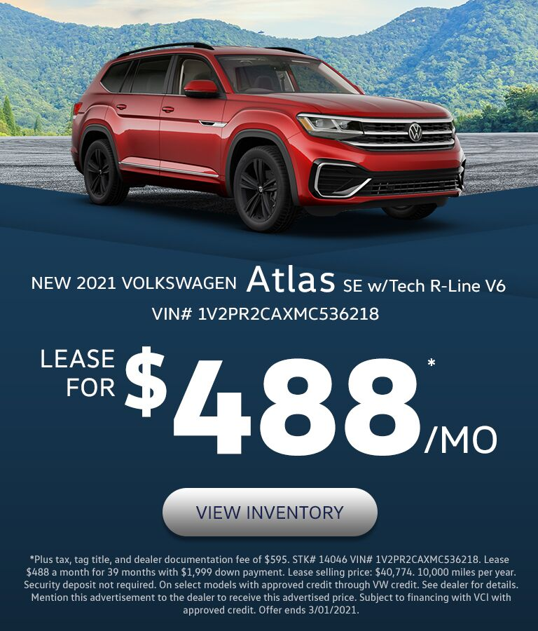 2021 VW Atlas in Lexington, KY