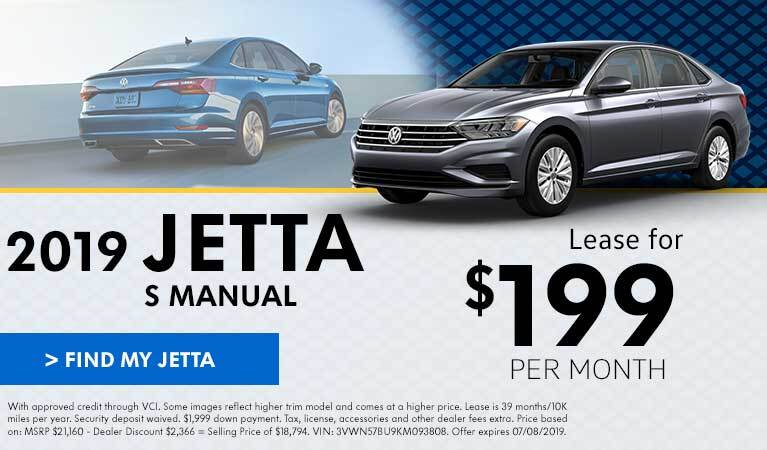 June Jetta Lease Offer