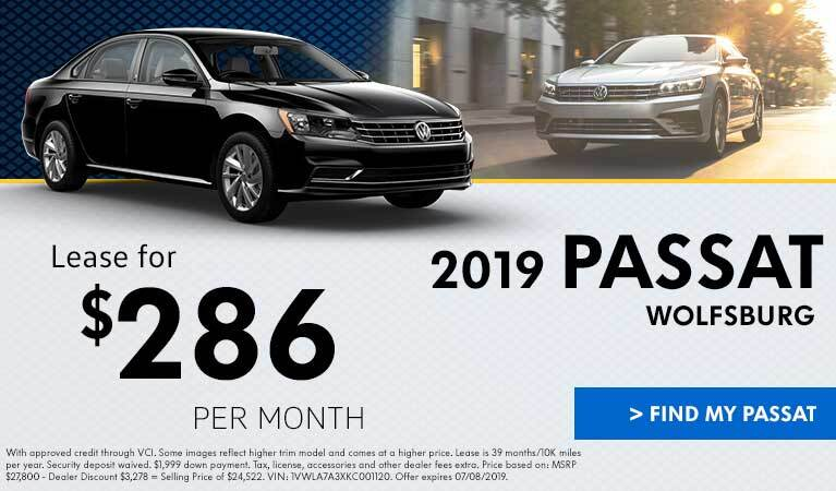 June Passat Lease Offer