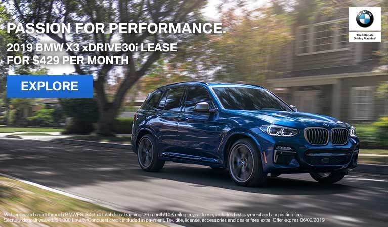 X3 Lease Offer