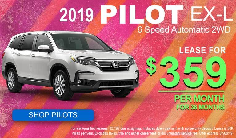 June Pilot Lease Offer