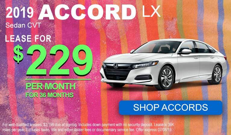 June Accord Lease Offer