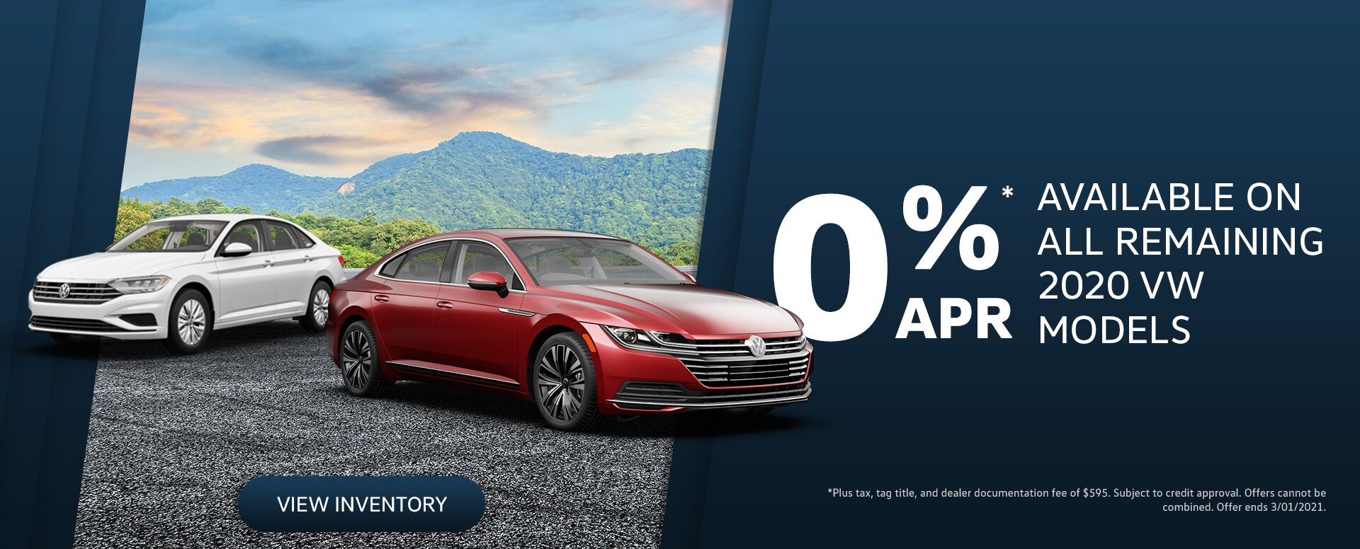 0% APR Available on 2020 Models at Don J