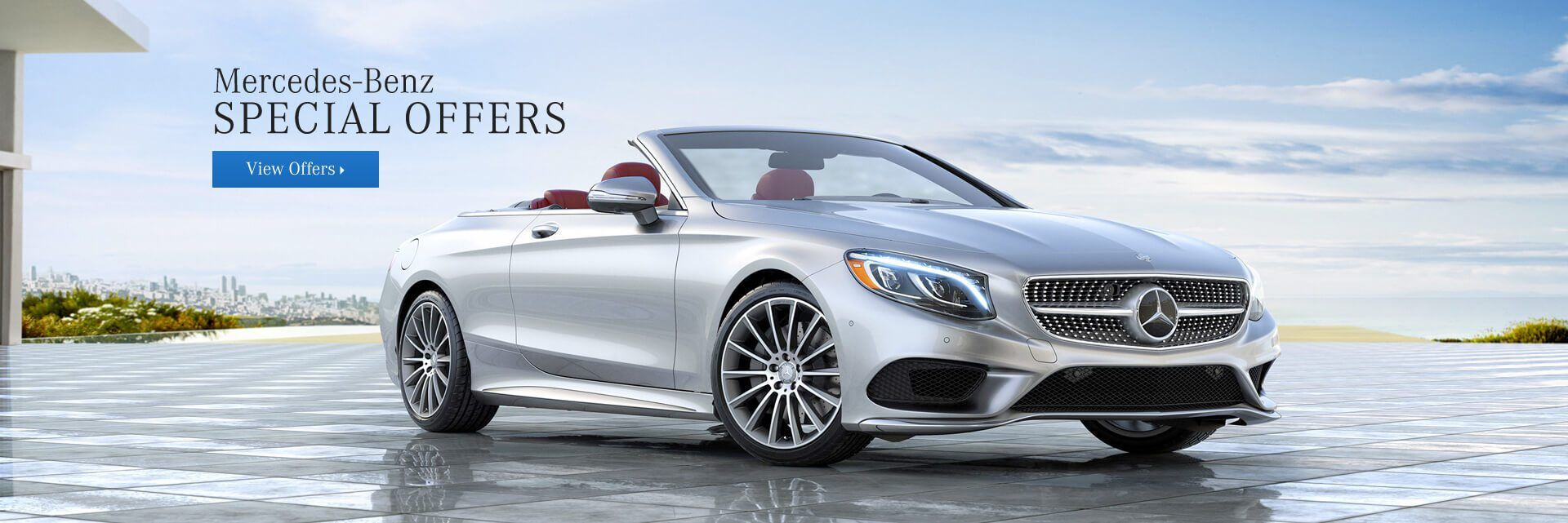 New Mercedes-Benz Special Offers